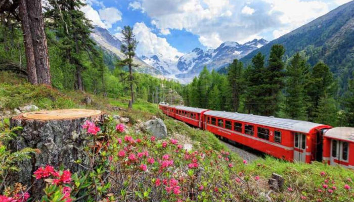 viaggi in treno_trenino rosso del Bernina