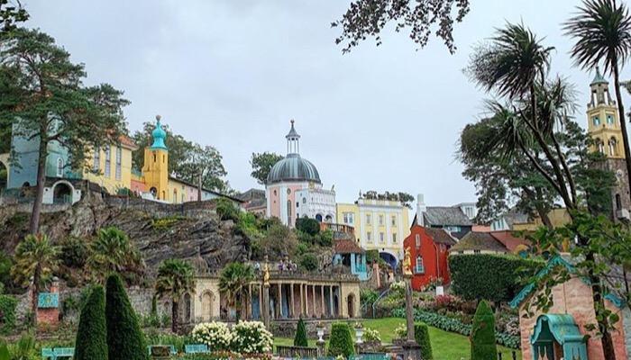Portmeirion, Galles