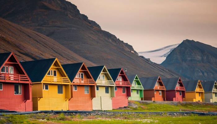 Longyearbyen, Svalbard, Norvegia
